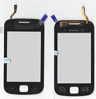 Сенсор Samsung S5660 чёрный (качественная копия)