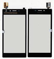 Сенсор Sony D2302 Xperia M2 Dual, D2305 Xperia M2, черный