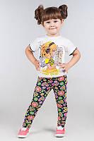 Комплект для девочек разные расцветки и рисунки, фото 1