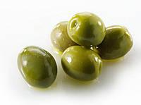 Зеленые оливки с косточкой 100 гр