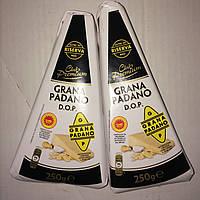 Сыр твердый Grana Padano (Грана  20 мес  кусковой, 250 г.