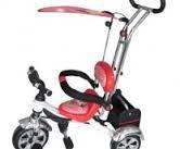 Велосипед 3-х колес. EVA Foam, сьемная корзина, красно-белый (1 шт.)