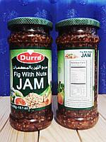 Джем из  инжира с орешками и кунжутом, 430 гр