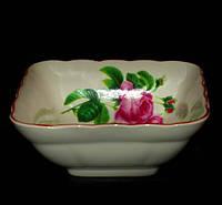 Салатник свадебный букет роз 270 мл
