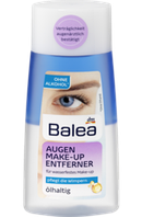Лосьон для снятия водостойкого макияжа с глаз  Balea Augen Make-up Entferner ölhaltig, 100 ml