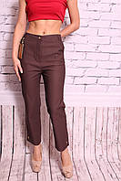 Женские укороченные брюки больших размеров (код 306-2)