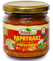ВЕГА паста из болгарского перца с кукурузной кашей BIO, 160 гр Primaeco