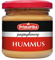 ВЕГА хумус натуральный с паприкой 160 гр Primavika
