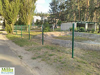 Забор из сварной сетки  Рубеж 3*4 3*2,2
