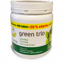 ВЕГА зеленое трио (спирулина, хлорелла, зеленый ячмень) 540 шт Topnatur