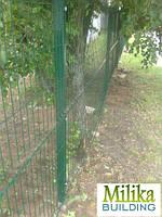 Забор из сварной сетки  Рубеж 3*4 3*2,4