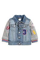 Джинсовая куртка  для мальчика. 1,5-2 года