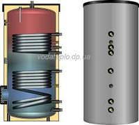 Бойлер непрямого (косвенного) нагрева Meibes ESS-PU 200 с встроенным солнечным змеевиком (серебряный)