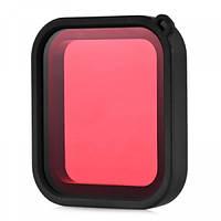 Фильтр подводный красный v2 для камер GoPro Hero 5 / 6 Black