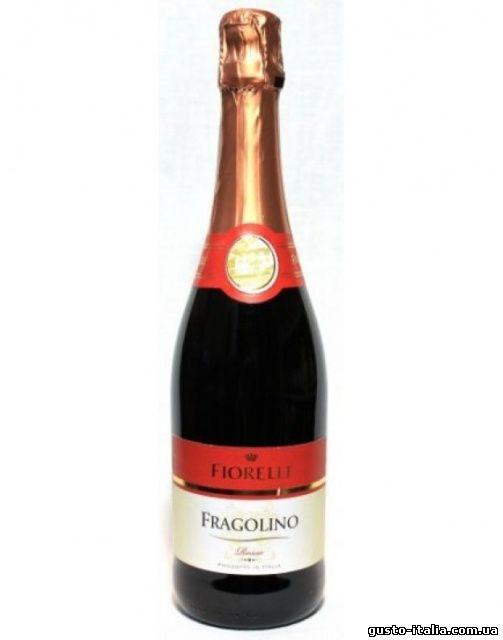 Шампанское (вино) Fragolino Fiorelli красное ( земляничное) Италия 750мл