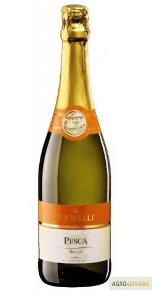 Шампанское (вино) Fragolino Fiorelli Pesca белое (персик) Италия 750мл