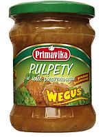 """ВЕГА фрикадельки в соевом соусе """"Wegusie"""", 420 гр Primavika"""