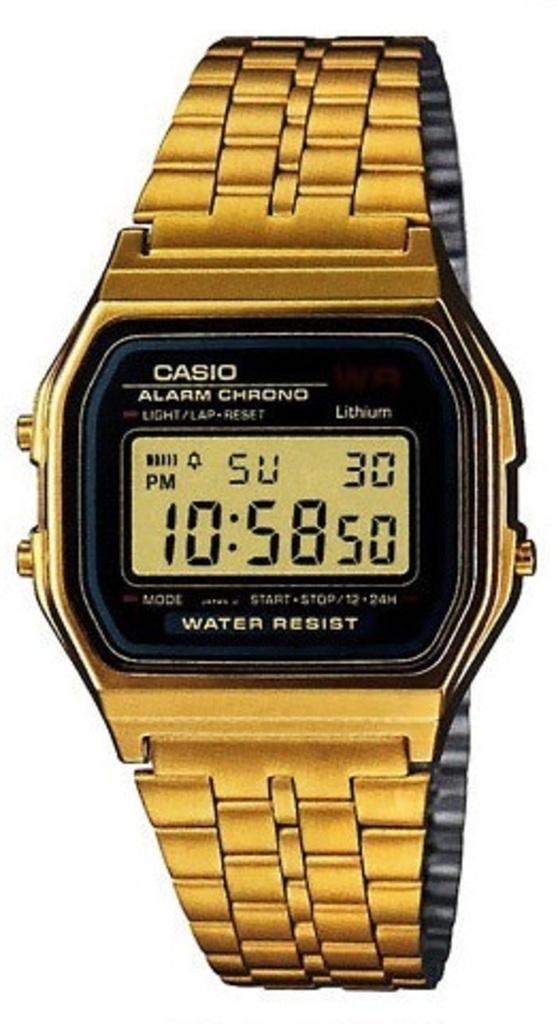 Наручные мужские часы Casio A159WGEA-1EF оригинал