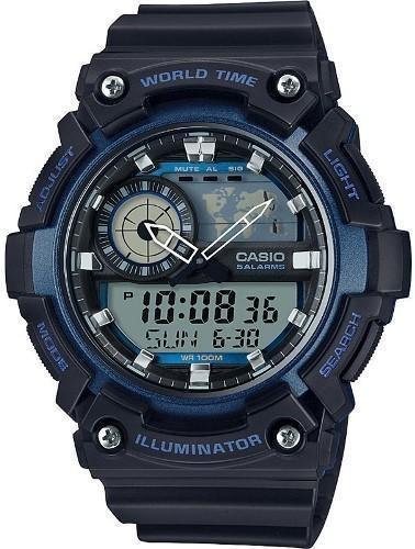 Наручные мужские часы Casio AEQ-200W-2AVEF оригинал