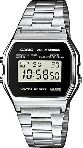 Наручные мужские часы Casio A158WEA-1EF оригинал