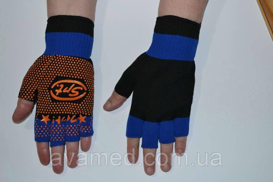 Рукавички Синтетика «SPT» без пальців, синтетичні