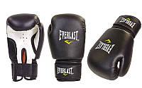 Перчатки боксерские PVC EVERLAST, MATSA, ZELART MA-0033-BK. Распродажа!