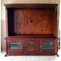 Большой деревянный шкаф-комод RTV