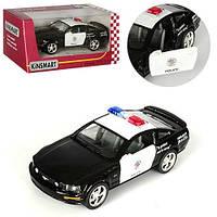 Машинка KINSMART KT 5091 WР FORD MUSTANG GT РOLICE 2006 1:42