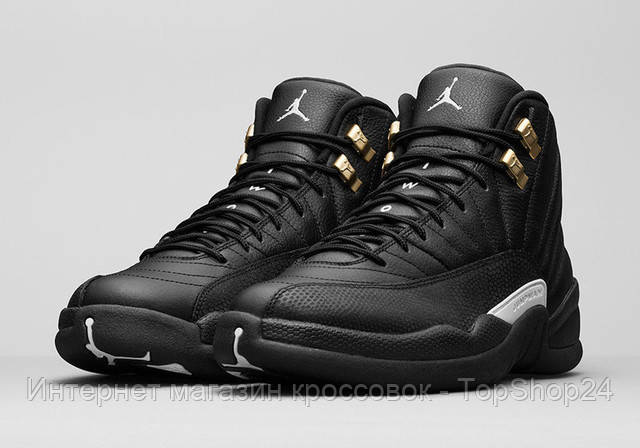 Кроссовки Nike Air Jordan 12 Retro Black Nylon 447a595a2aa13