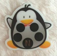 Термометр - наклейка   на лоб для непрерывного измерения температуры  Пингвин
