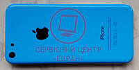 Apple iPhone 5c корпус задня кришка панель синя