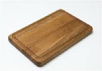 Доска прямоугольная с желобом 25х20 см HoReCa