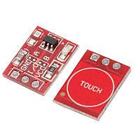 Ёмкостная сенсорная цифровая мини кнопка TTP223 TTP223B датчик касания, для Arduino и др. микроконтроллеров