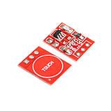 Ёмкостная сенсорная цифровая мини кнопка TTP223 TTP223B датчик касания, для Arduino и др. микроконтроллеров, фото 2