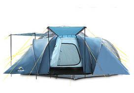 Палатка туристическая ICEBERG REFUGE 6 для 6 человек 3 комнаты