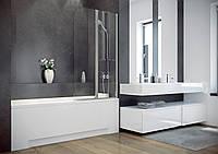 Шторка для ванн AMBITION - 2   80.5x140 BESCO двухстворчатая