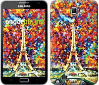 """Чехол на Samsung Galaxy Note i9220 Париж """"830u-316"""""""