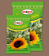 """Насіння соняшника не солене, смажене """" Mogyi """"(200 г)"""
