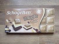 Шоколад молочно-белый Schogеtten Trilogia COFFE 100 г.