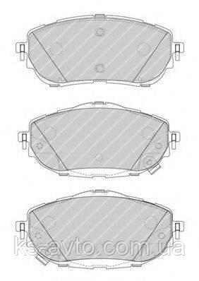 Колодки тормозные   REMSA 1561.02  FDB4648