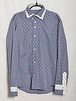 Рубашка Ричи х/б синяя