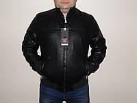 Куртка больших размеров мужская кож-зам.