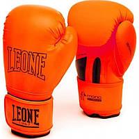 Боксерские перчатки Leone Mono Orange 10 ун.