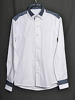 Рубашка Оксфорд длинный рукав