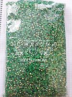 Стразы акриловые ss16 (4.0 мм) Emerald AB 50000шт