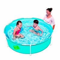 Детский каркасный бассейн круглый Bestway 152-38 см