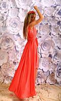 Женское платье + свободный палантин