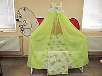 Комплект детской постельки в кроватку