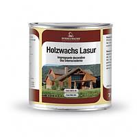 Декоративное восковое покрытие HOLZWACHS LASUR (750 мл)