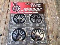 Наклейка эмблема на колесный диск / колпак d 60 мм